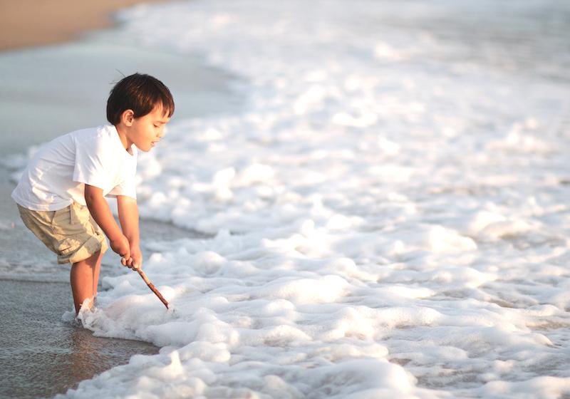 plaža za djecu